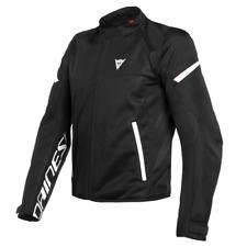 Jacket man Dainese Bora Air Tex black white size 64 moto perforated summer