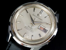 Working Seiko Sportsmatic 5 Deluxe 1965 Vintage Automatic Mens Watch 7606 uhr