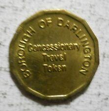Borough of Darlington (England) concessionary travel / transit token - 230BP