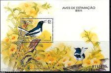 bird Macau 1995  ^ Prized Birds ^  M/S MNH