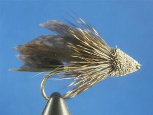 1 dozen Muddler Minnow #12, Flies, Trout, NR!