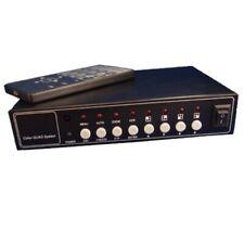 Evertech (Cq-208) Office Home Video Security Camera Cctv Color Quad Splitter Pr