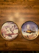 New ListingHautman Brothers 2002 Pheasant & Mallard Duck Collector Plates ~ Nice!