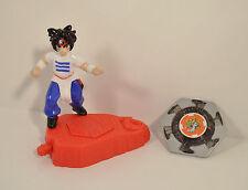 "2002 Ray Rei Kon 3"" Burger King PVC Plastic Action Figure Beyblade Bey Blade"