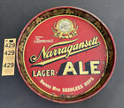 1950s Narragansett Brewery Beer Tray, Famous lager & Ale, Cranston, RI