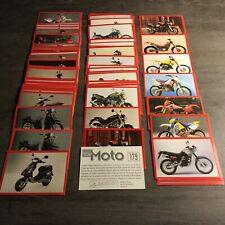 Lot Images Panini TOP MOTO 1998 à choisir!