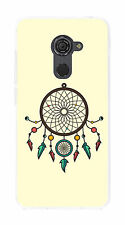 Cover Gel TPU Case Cover for Vodafone Smart Platinum 7 Drawing Dream Catcher