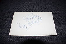 RAY ELLINGTON (+ ´85) signed Autogramm auf 10x16cm Zettel THE GOON SHOW InPerson