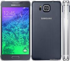 Samsung Galaxy Alpha SM-G850F 32GB Charbon De Bois Noir Smartphone débloqué