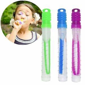 Set of 3 Bubbles Blow Sword Kids Outdoor Fun Bubble Wand Blower Stick Garden Toy