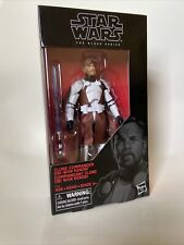 "DISNEY HASBRO Star Wars Black Series CLONE COMMANDER OBI-WAN 6"" Action Figure"