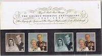 GB Presentation Pack 281 Golden Wedding Anniversary 1997 10% OFF FOR ANY 5+