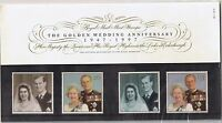 GB Presentation Pack 281 1997 Golden Wedding Anniversary