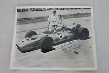 Rolla Vollstedt Autograph Racing Photo Signed 1971 Indy Car #7 Indianapolis