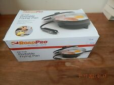 Roadpro 12V Portable Frying Pan Opened Never used Cookware for Car Single