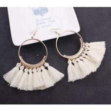 Vintage Women Bohemian Earrings Long Tassel Fringe Boho Dangle Earrings Jewelry