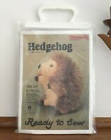 Vintage Minicraft Sewing Craft Kit Stuffed Animal Hedgehog Woodland Creature