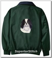 JAPANESE CHIN embroidered Challenger jacket ANY COLOR B