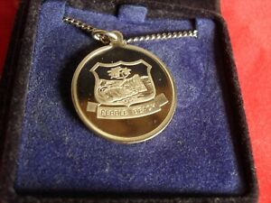Pebble Beach Silver Proof Medallion 1986 From England Salesman Sample