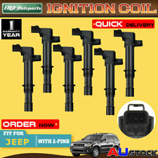 6x For Jeep Cherokee KJ Commander XK Grand Cherokee WH/WK 3.7L Ignition Coils
