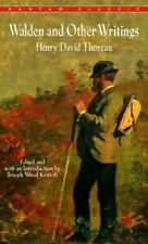 Walden and Other Writings by Henry Thoreau (1983, Mass Market)