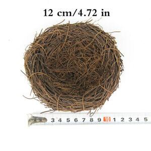 Simulation Twig Bird Nest Easter Rattan Nesting for Garden Party Wedding Crafts