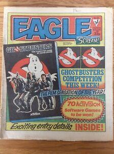 Eagle and Scream #142 8/12/84 Dan Dare, Bloodfang, 13th Floor, IPC UK comic