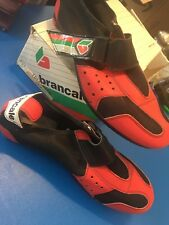 NOS BICYCLE Italian Brancale Shoes Size 45 Slotted 2 or 3 Bolt NIB