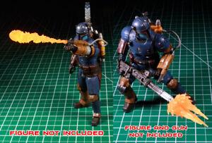 Custom Flame Thower Effect 1:12 Mandalorian Heavy