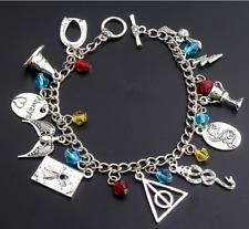 Harry potter Bracelet Charm Jewelry Womens Cosplay Prop Lady Girls US SHIP