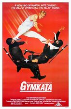 GYMKATA (1985) ORIGINAL MOVIE POSTER  -  ROLLED