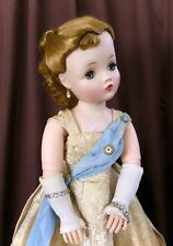 BEAUTIFUL VINTAGE 1957 HTF SIDE PART QUEEN CISSY DOLL MADE BY MADAME ALEXANDER