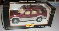 1995 Ford Explorer Maisto 1/24 Diecast New In Box