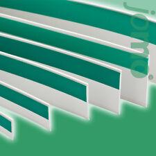 Fensterleiste Flachleiste selbstklebend Gummilippe Kunststoffleiste PVC Fenster