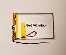 3.7V 4000 mAh Polymer Li Battery Li-po For GPS PDA PSP iPAQ Tablet PC 606090