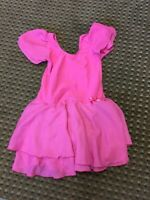 ~ iEFiEL Girls Pink Ballet Leotard ~ Size Large ~