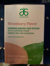 Arbonne NEW! Ginseng Energy Fizz Sticks - Strawberry Flavor