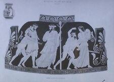 Pelike w/ Hephaestus Brought by Dionysus to Olympus,Magic Lantern Glass Slide,