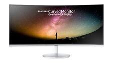 Monitor curvo 34'' multimedia Samsung C34f791wqux blanco