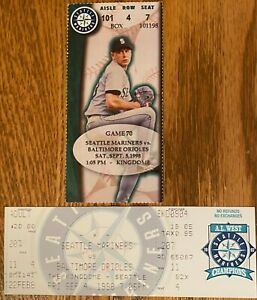 SEATTLE MARINERS VS BALTIMORE ORIOLES SEPT 4 5 1998 KINGDOME have others