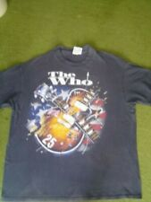 Vintage 80'S The Who Tour Tee Shirt Xlg 100% Cotton Made In Usa