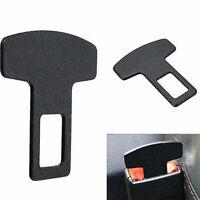 1Pc Universal Car Safety Seat Belt Buckle Alarm Stopper Clip Carbon Fiber Clamp