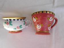 2 Mary Engelbreit Christmas Spice Cup ornaments 1999 Me ceramic lot