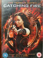The Hunger Games Catching A Fire DVD 2013 2 Dystopian Sci-Fi Film W/Slipcover