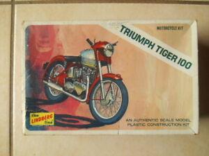 RARE LINDBERG TRIUPH TIGER 100 MOTORCYCLE UNBUILT