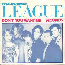"HUMAN LEAGUE – Don't You Want Me (1981 VINYL SINGLE 7"" HOLLAND)"