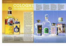 PUBLICITE ADVERTISING 025  2008  LES EAUX DE COLOGNE ( 4p) R. GALLET NAPOLEON GU