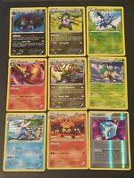Carte Pokemon - Lot de 50 cartes françaises - Toute collection - Holo Communes