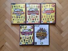 PC 4 The Sims 2 Games & SimsCity Societes (New)