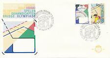 Nederland FDC e185 Arnhem 21 juni - 5 juli 1980 Olympics disabled
